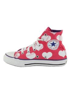 CONVERSE CT HEARTS HI SCARPE LITTLE GIRLS