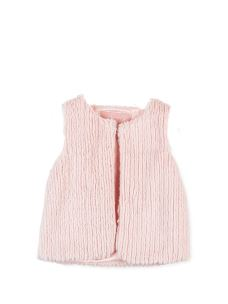 LOSAN GILET IN PELO LITTLE GIRLS