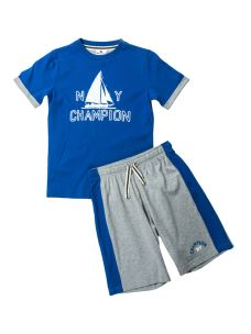 CHAMPION COMPLETO BOYS T-SHIRT+BERMUDA