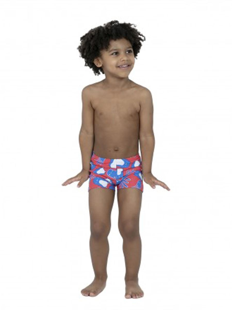 SPEEDO ALLOVER ASHT IM SHORT NUOTO LITTLE BOYS