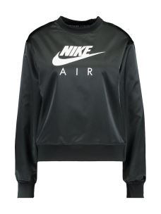 NIKE W NSW AIR CREW SATIN FELPA DONNA IN TESSUTO SATINATO