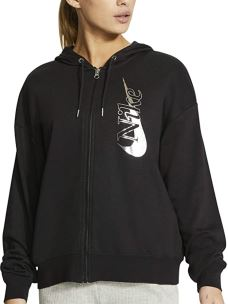 NIKE NSW ICONIC CLSH FZ FELPA DONNA IN COTONE FELPATO