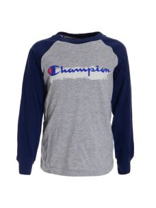 CHAMPION T-SHIRT BOYS MANICA LUNGA