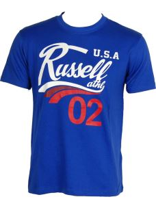 "RUSSELL ATHLETIC T-SHIRT UOMO ""CREW NECK TEE"""