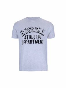 "RUSSELL ATHLETIC T-SHIRT UOMO ""S/S CREW NECK TEE"""