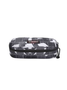 EASTPAK ASTUCCI OVAL SINGLE FANTASIA CRACKED DARK