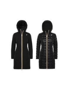 K-WAY CHARLENE THERMO KRINKLE DOUBLE PARKA DONNA